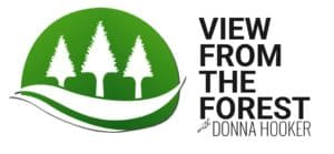 view from the forest logo