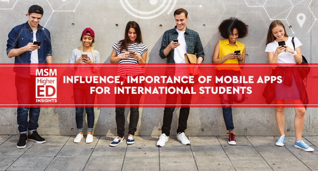 influence mobile apps international students banner