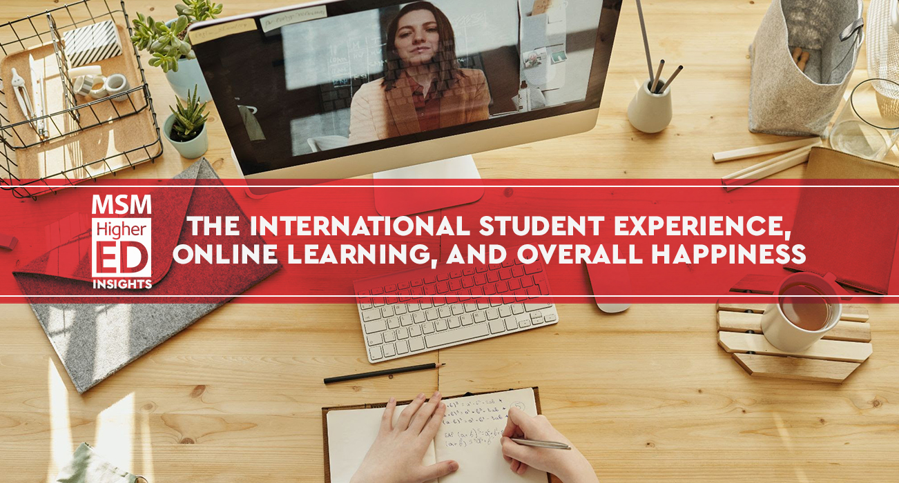 international student experience banner