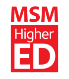 MSM Higher Ed logo